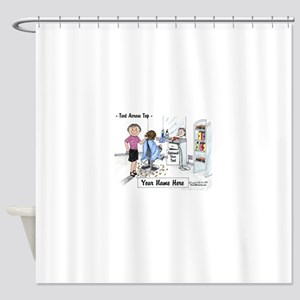 Hair Dresser, Female Shower Curtain