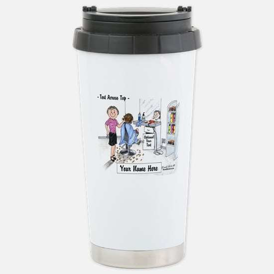 Hair Dresser, Female Travel Mug
