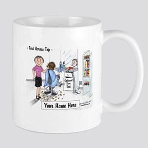 Hair Dresser, Female Mugs