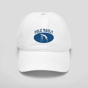 Pole Vault (blue circle) Cap
