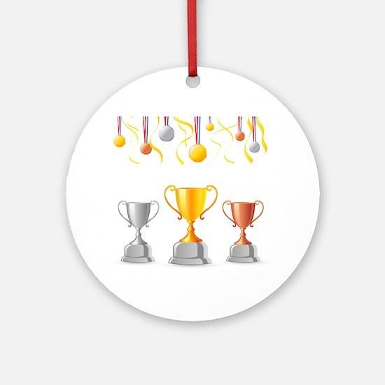 Cute Incentive Round Ornament