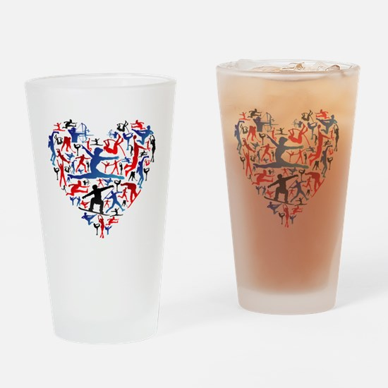 Unique Olympic Drinking Glass