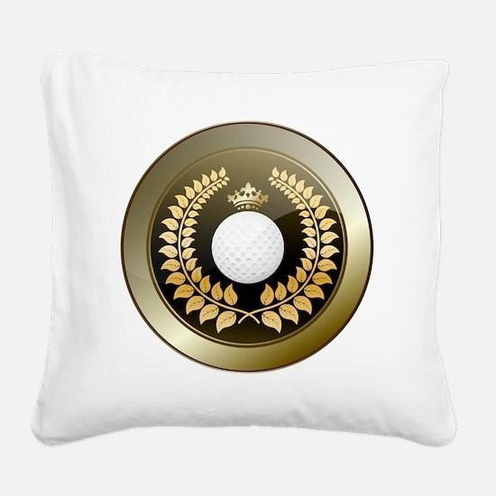 Funny Symbols Square Canvas Pillow