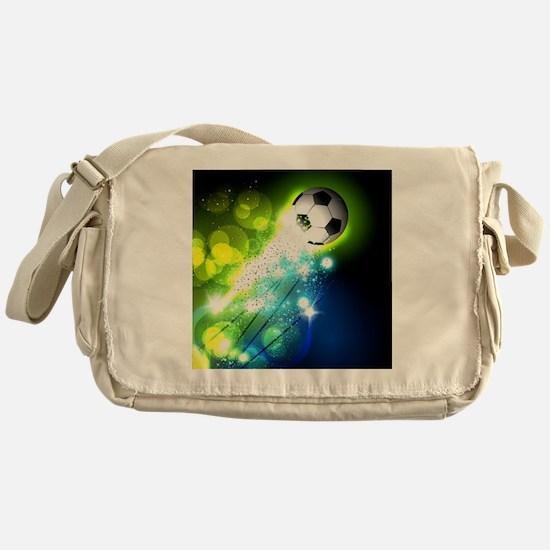Unique Soccer Messenger Bag