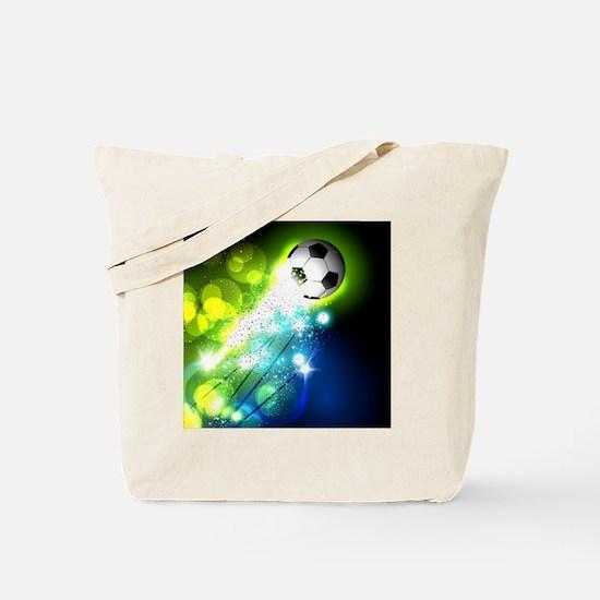 Unique Soccer ball Tote Bag