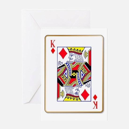 King Diamonds Greeting Cards