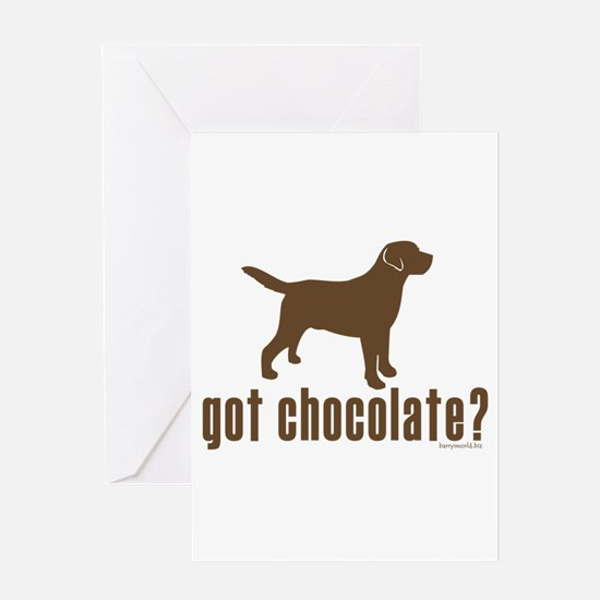 got_chocolatelabradorretriever1 Greeting Cards