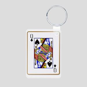 Queen Spades Keychains