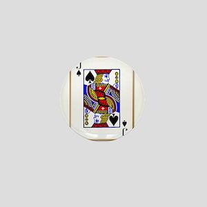 Joker Spades Mini Button