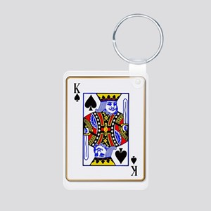 King Spades Keychains