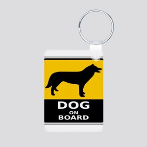 Dog On Board Keychains