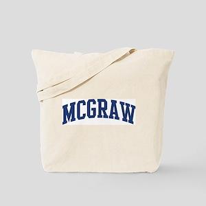 MCGRAW design (blue) Tote Bag