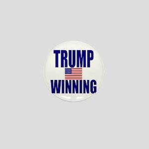 Trump winning Mini Button