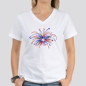 Fireworks Ash Grey T-Shirt