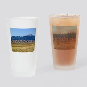 Great Sand Dunes Colorado with Sang Drinking Glass