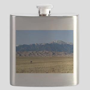 Great Sand Dunes Colorado with Sangre de Cri Flask