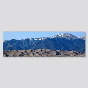 Great Sand Dunes Colorado with Sang Bumper Sticker