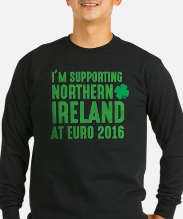 I'm Supporting Northern Irelan Long Sleeve T-Shirt
