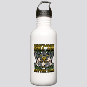 What Doesn't Kill Me B Stainless Water Bottle 1.0L