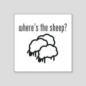 Where's The Sheep? Sticker