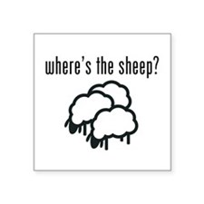 Where's The Sheep? Sticker