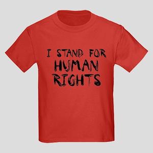 Human Rights Kids Dark T-Shirt