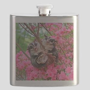 Flowers #15 Flask