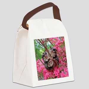 Flowers #15 Canvas Lunch Bag