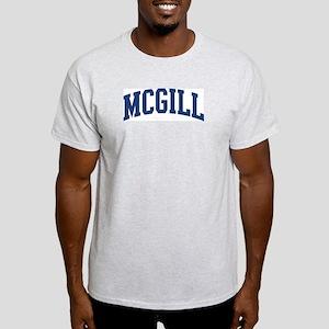 MCGILL design (blue) Light T-Shirt