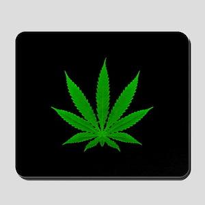 Cannabis Leaf Mousepad