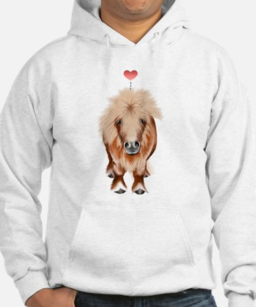 PONY-with a heart Hoodie