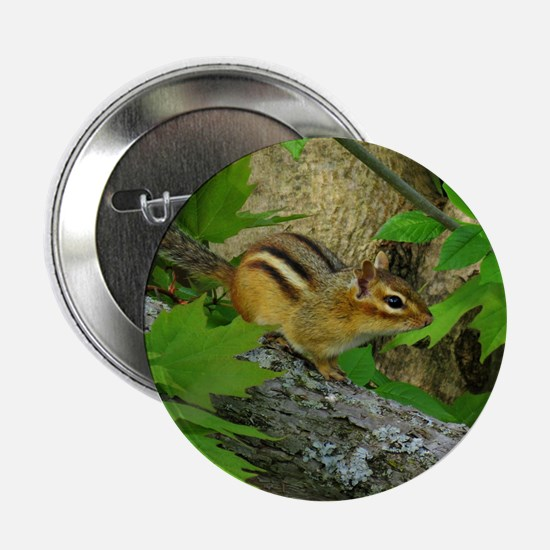 "Roaming chipmunk 2.25"" Button (10 pack)"