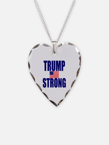 Cute Politics Necklace Heart Charm