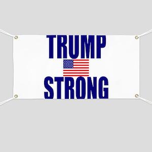 Trump Strong Banner