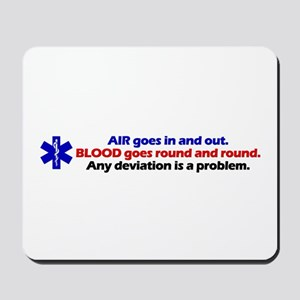 Air/Blood... Mousepad