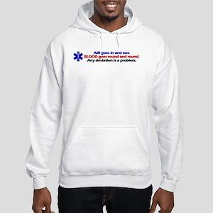Air/Blood... Hooded Sweatshirt