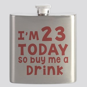 I am 23 today Flask