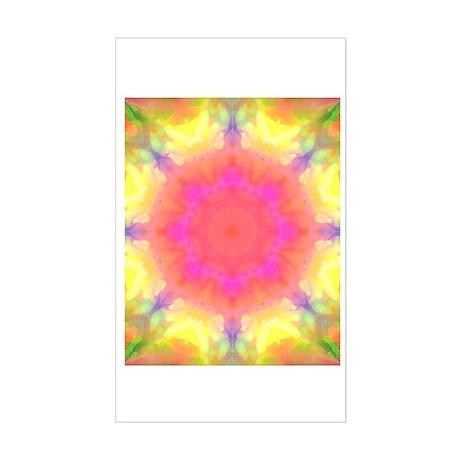 Astral Mandala Rectangle Sticker