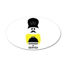 Dinner Served Wall Decal