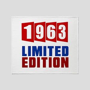 1963 Limited Edition Birthday Throw Blanket