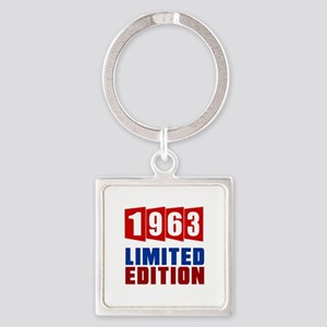 1963 Limited Edition Birthday Square Keychain
