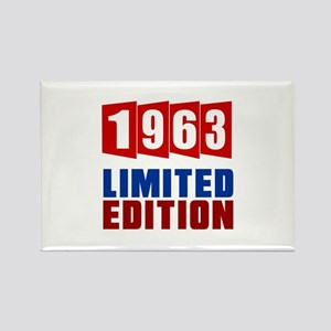 1963 Limited Edition Birthday Rectangle Magnet
