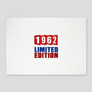 1962 Limited Edition Birthday 5'x7'Area Rug