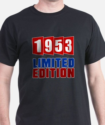 1953 Limited Edition Birthday T-Shirt