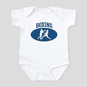 Boxing (blue circle) Infant Bodysuit
