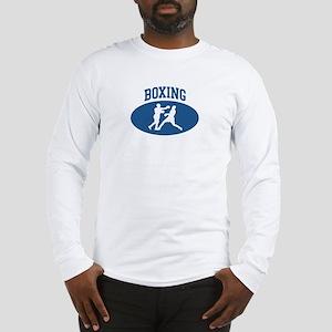 Boxing (blue circle) Long Sleeve T-Shirt