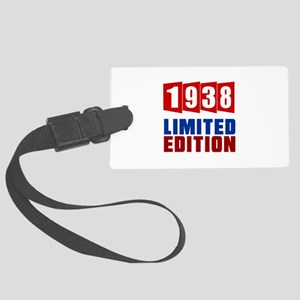 1938 Limited Edition Birthday Large Luggage Tag