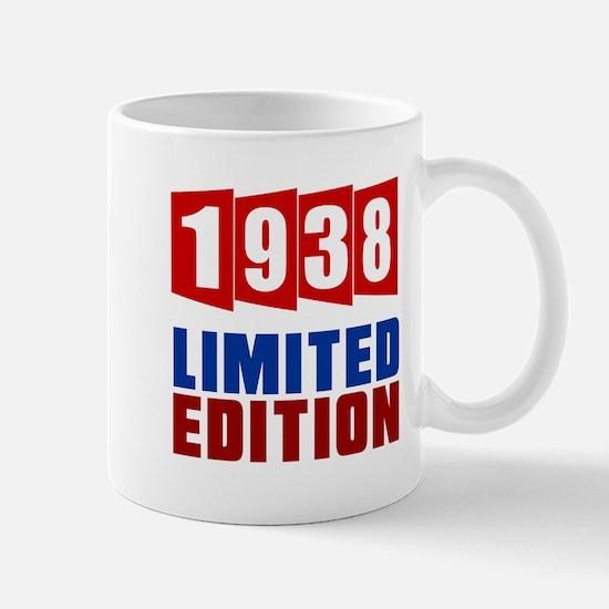 1938 Limited Edition Birthday Mug