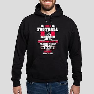 Football Mom Shirt Hoodie (dark)