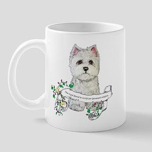 Loyal Westhighland Terrier Mug